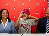 St. John's Senior Alexa Mullins signs a national letter of intent committing to play lacrosse for the Stanford University Cardinal.
