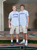 Class of 2012 St. John's seniors who played as teammates for the Mavericks will join competing NESCAC conference schools in College. Nathan Whittle will goalie for Williams College's lacrosse team and Christopher Gow will join the football team at Amherst College.  Wed., May 2, 2012. Houston, Tex. (Kevin B Long / Gulf Coast Shots)
