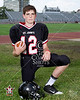 8th grade football portraits