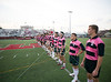 """The Strake Jesuit College Prepataory school Crusaders travel to Hotze Field to play the St. Thomas Eagles in the fifth annual Rugby-for-a-Cause match supporting the fight against breast cancer. The Rugby Texas champion Eagles brought their """"A"""" game to the pitch to win the Lady Haber Cup for the 5th straight year, winning 33-7. STHS is the two-time Rugby Texas state champion and the three-time Western Regional US Rugby champion.  Fri., Mar. 30, 2012, Houston, Tex. (Kevin B Long / GulfCoastShots.com)"""