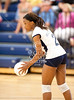 Second Baptist's lady Eagles visit for a season opening against DASH - Duchesne Academy of the Sacret Heart's Chargers in girls varsity volleyball for best of 5.  Second Baptist won 3-1.