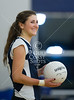 Second Batist School's Lady Eagles play the Jaguars of Emery-Weiner School in varsity volleyball. Second Baptist wins 3-0 (25-12, 25-16, 25-19).