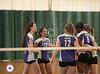 Casady's Cyclones of Oklahoma City play Kinkaid's Lady Falcons of Houston at Hockaday School, host for the D2 girls SPC fall 2011 volleyball tournament. Kinkaid wins.