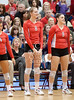 In the final game of the season, the Cougars of the University of Houston host the Lady Owls of cross-town Conference USA rival Rice the Wednesday before Thanksgiving. Played in UH's AAC, the Lady Cougs won in 5: 25-22, 25-21, 21-25, 20-25, 16-14.