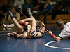 St. John's Mavericks varsity wrestlers compete in Crum Gym at Episcopal against the Knights. Knights win by 3 points. An abbreviated gallery for a news assignment, only contains several matches.