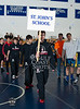 Opening Ceremonies. 20 Private Schools from across Texas convene at Episcopal High School for the 2012 Texas Prep Wrestling Championships.