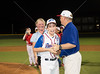 An undefeated Post Oak 12-year-old Little League baseball team takes the field against First Colony American in a rematch for the district championship. First Colony played well, but Post Oak prevaled 6-3, and takes the banner to sectionals. Thu., Jul. 5, 2012. West University, Tex. (Kevin B Long / GulfCoastShots.com)