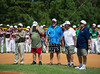 Teams gather for the opening ceremonies of the 2012 Texas East State Little League Tournament in Faulkland Park. St., Jul 21, 2012. Tyler, Tex. (Kevin B Long / GulfCoastShots.com)