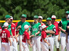 West University's Juniors Tournament team gathers for the opening ceremonies of the 2012 Texas East State Little League Tournament in Faulkland Park. St., Jul 21, 2012. Tyler, Tex. (Kevin B Long / GulfCoastShots.com)
