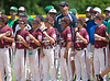 Pearland Maroon's 10-11 year-old All-Stars team gathers for the opening ceremonies of the 2012 Texas East State Little League Tournament in Faulkland Park. St., Jul 21, 2012. Tyler, Tex. (Kevin B Long / GulfCoastShots.com)