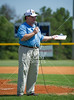 Bill Coates of EPSN East Texas 92.1FM hosts the opening ceremonies of the 2012 Texas East State Little League Tournament in Faulkland Park. St., Jul 21, 2012. Tyler, Tex. (Kevin B Long / GulfCoastShots.com)