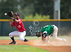 West U's #2 beats the relay to Victoria's #10 on this steal in the 1st. West University Senior division Little League tournament team takes on Victoria West in game 1 of the 2012 Texas East State Little Tournament. Sat., Jul 21, 2012. Tyler, Tex. (Kevin B Long / GulfCoastShots.com)