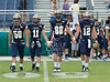 Lutheran North, with a nearly all-freshman squad competes with Second Baptist, sporting 15 seniors, for football on Woodway. 2B's Eagles tame the Lions 81-6. Thu., Sep. 27, 2012. Houston, Tex. (Kevin B Long / GulfCoastShots.com)