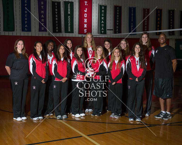 2012 SJS Varsity Girls volleyball team pictures