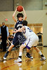 Houston's Kinkaid School Falcons play on their home court against the Eagles of the Episcopal School of Dallas in Game 12 of Division 1 SPC Winter basketball.