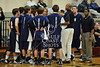 St. Stephen's School's Spartans play the Eagles of the Episcopal School of Dallas in Game 8 of Division 1 boys basketball in the 2009 Winter SPC Tournament.