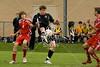 Cisctercian Preparatory School's Hawks play the Mavericks of St. John's School in Game 8 of the Boys Division 2 SPC Winter 2009 Soccer Tournament