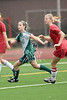 The Falcons of Ft. Worth Country Day School take the misty soccer field with the Daisies of the Hockaday School to play Game 8 of Division 1 Girls Soccer during the Winter 2009 SPC Tournament.