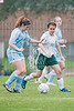 The Dragons of the John Cooper School play the Trojans of Trinity Valley School in girls soccer, game 1 of division 2of the SPC 2009 winter tournament.