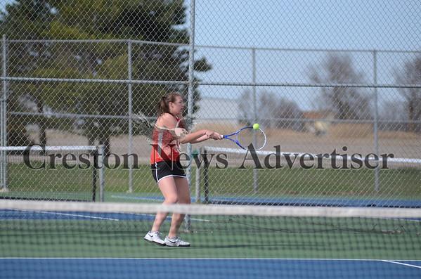 04-14 Creston-SW Valley girls tennis