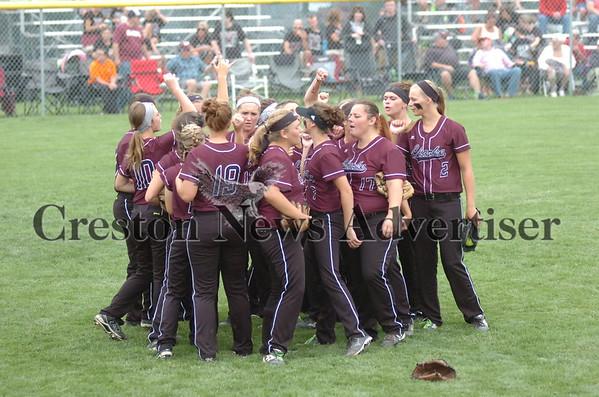 07-28 Clarke-Bondurant-Farrar state softball championship