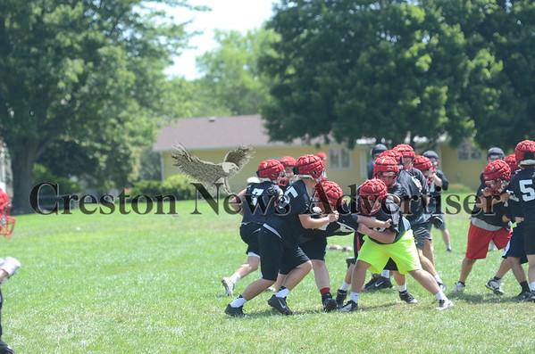 08-12 Creston football practice