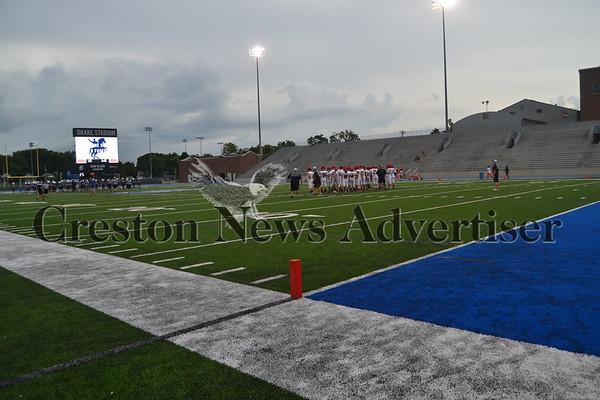 08-22 Creston/O-M football vs. Roosevelt