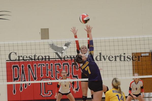 09-13 Creston volleyball