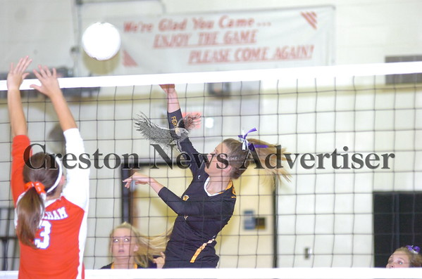 09-18 Lenox-Earlham volleyball