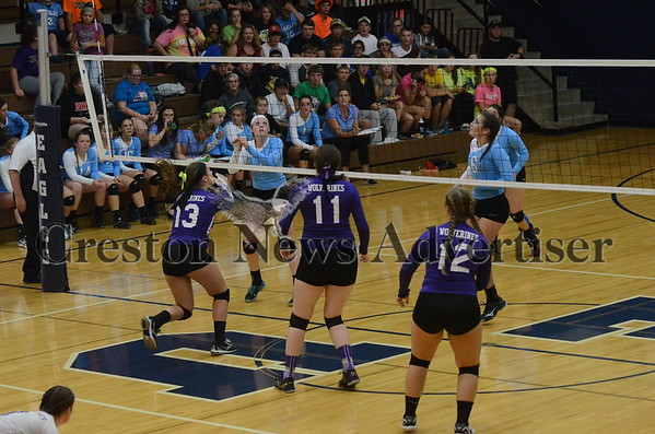 09-27 Nodaway Valley volleyball at East Union
