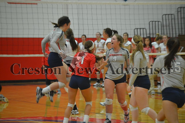 09-29 SWCC - Northeast volleyball