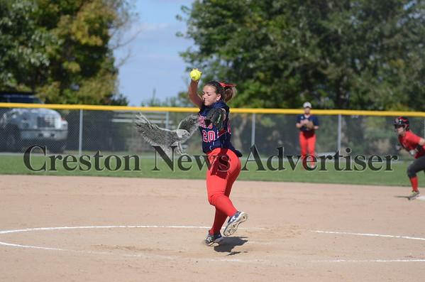 10-02 SWCC-North Central softball