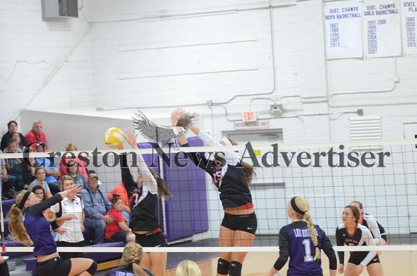 10-06 Murray-Mount Ayr volleyball