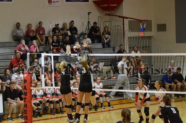 10-09 Creston-Glenwood volleyball