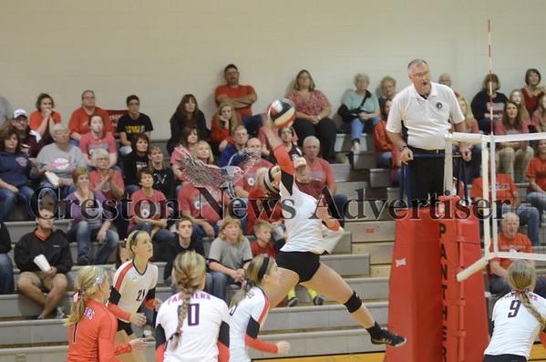 10-28 Creston-Glenwood volleyball