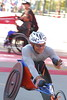 Wheelchair Winner 2010: Heinz Frei, 1:26:56