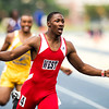 West Montgomery's Jaquil Capel bring home a 1st place finish in the 2011 NCHSAA 1A Track and Field Championship.