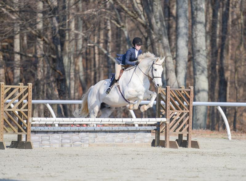 Rider: Ashley Yeaton<br /> Horse: Arthur<br /> School: Sweet Briar College