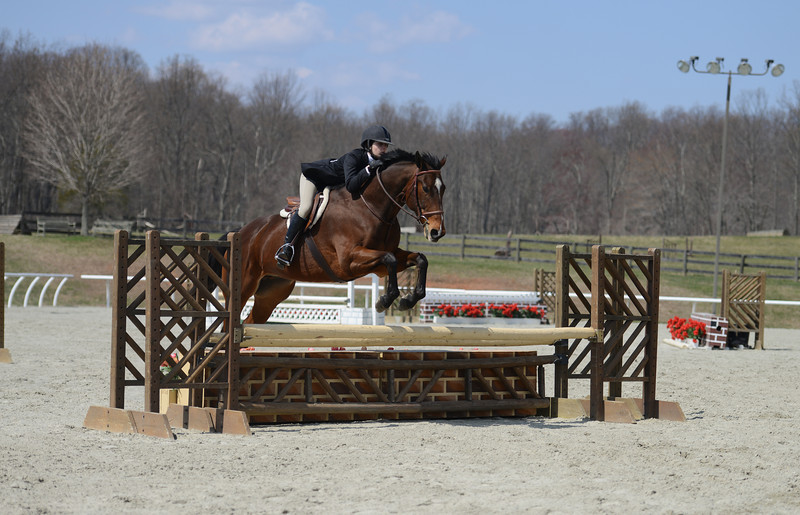 Rider: Mackensie Bowles<br /> Horse: Relaxing After Hours<br /> School: Bridgewater College