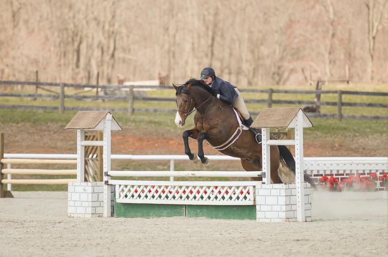 Rider: Victoria Eisenmann<br /> Horse: Nightlight<br /> School: Sweet Briar College