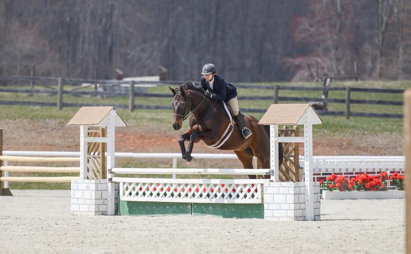 Rider: Jodi Fritz<br /> Horse: Burr<br /> School: Sweet Briar College