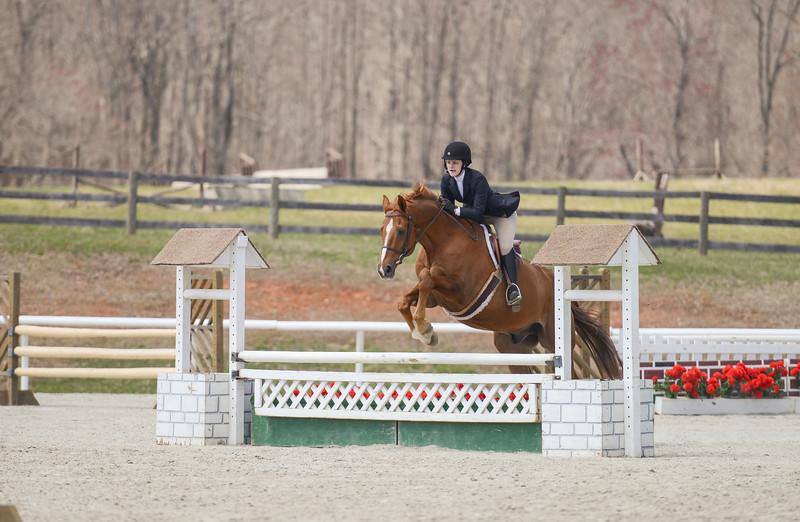 Rider: Annabel Voorhees<br /> Horse: Mel<br /> School: Sweet Briar College
