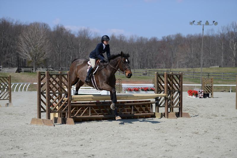 Rider: Lizzie Kerron<br /> Horse: Berringer<br /> School: Randolph College