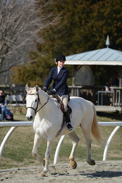 Rider: Kristin Frey<br /> Horse: Cassanova<br /> School: Sweet Briar College