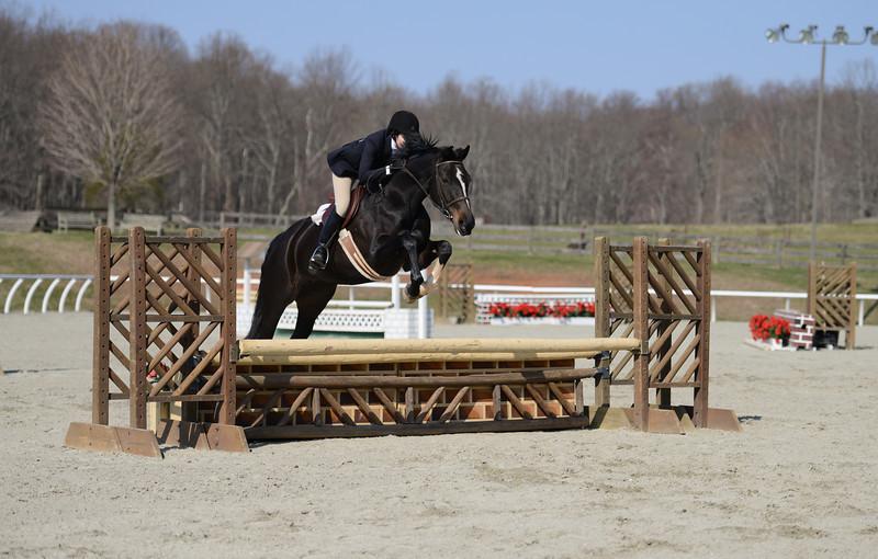 Rider: Madeline Coleman<br /> Horse: Tina<br /> School: Sweet Briar College