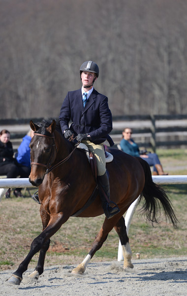 Rider: Zachary Hinch<br /> Horse: Sharp Dressed Man<br /> School: Bridgewater College