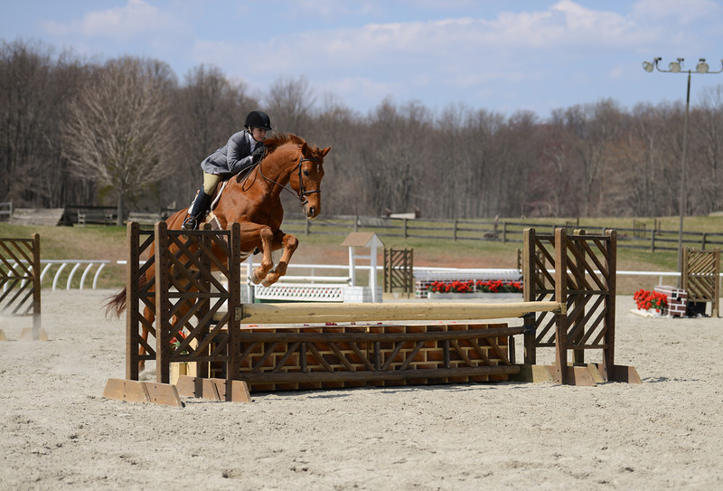 Rider: Haley Reeves<br /> Horse: Summertime<br /> School: Sweet Briar College