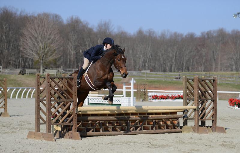 Rider: Sarah Gray<br /> Horse: Thoreau<br /> School: Sweet Briar College