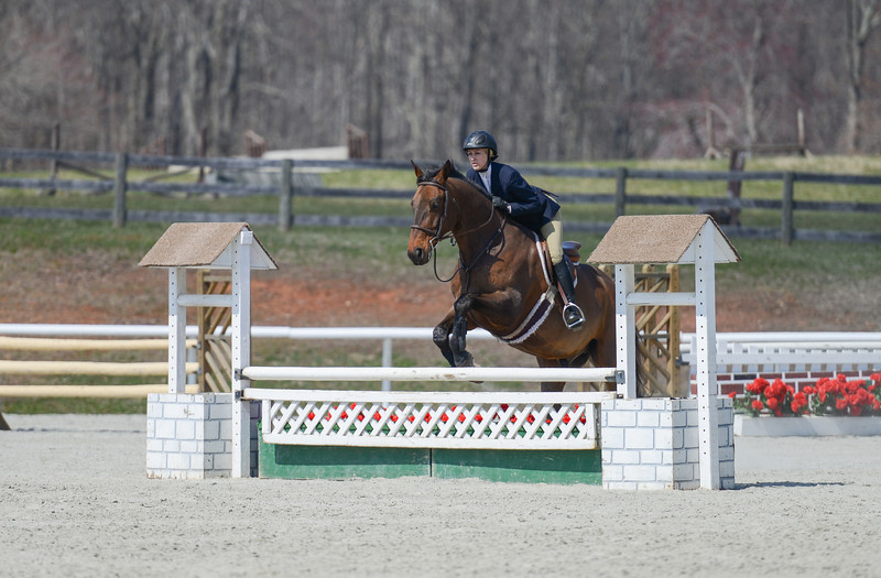 Rider: Taylor Rose <br /> Horse: Arsenik <br /> School: Bridgewater College