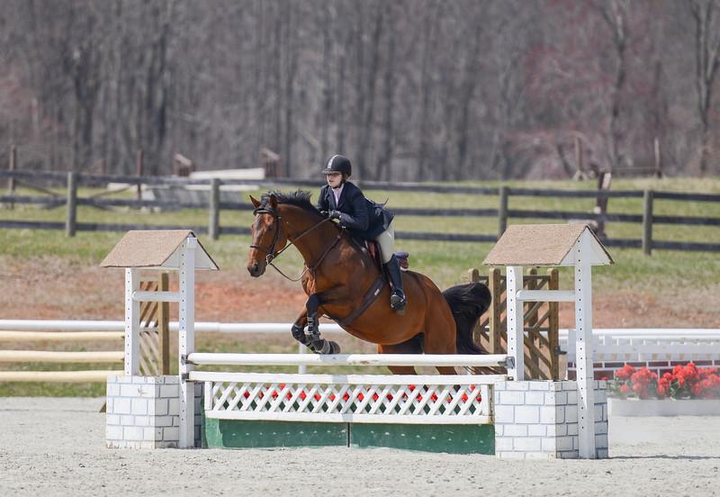 Rider: Casi Huvard<br /> Horse: Mainway's Minnow<br /> School: Sweet Briar College